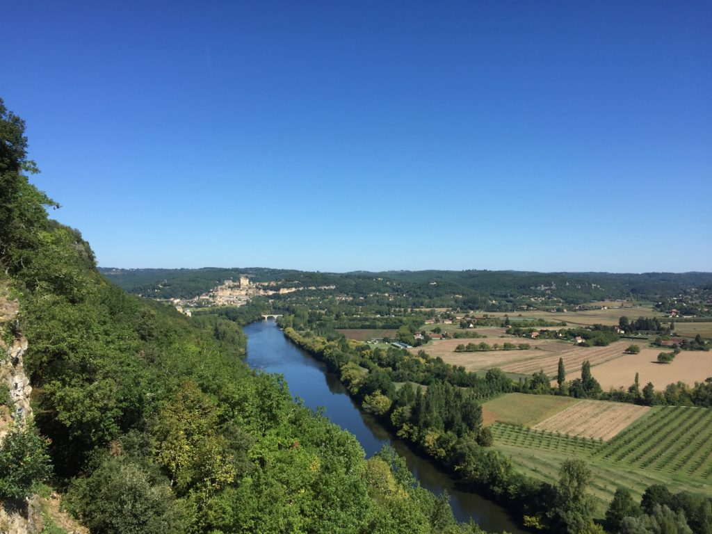 The Dordogne Valley from the battlements. Photo by Anton Shelupanov.